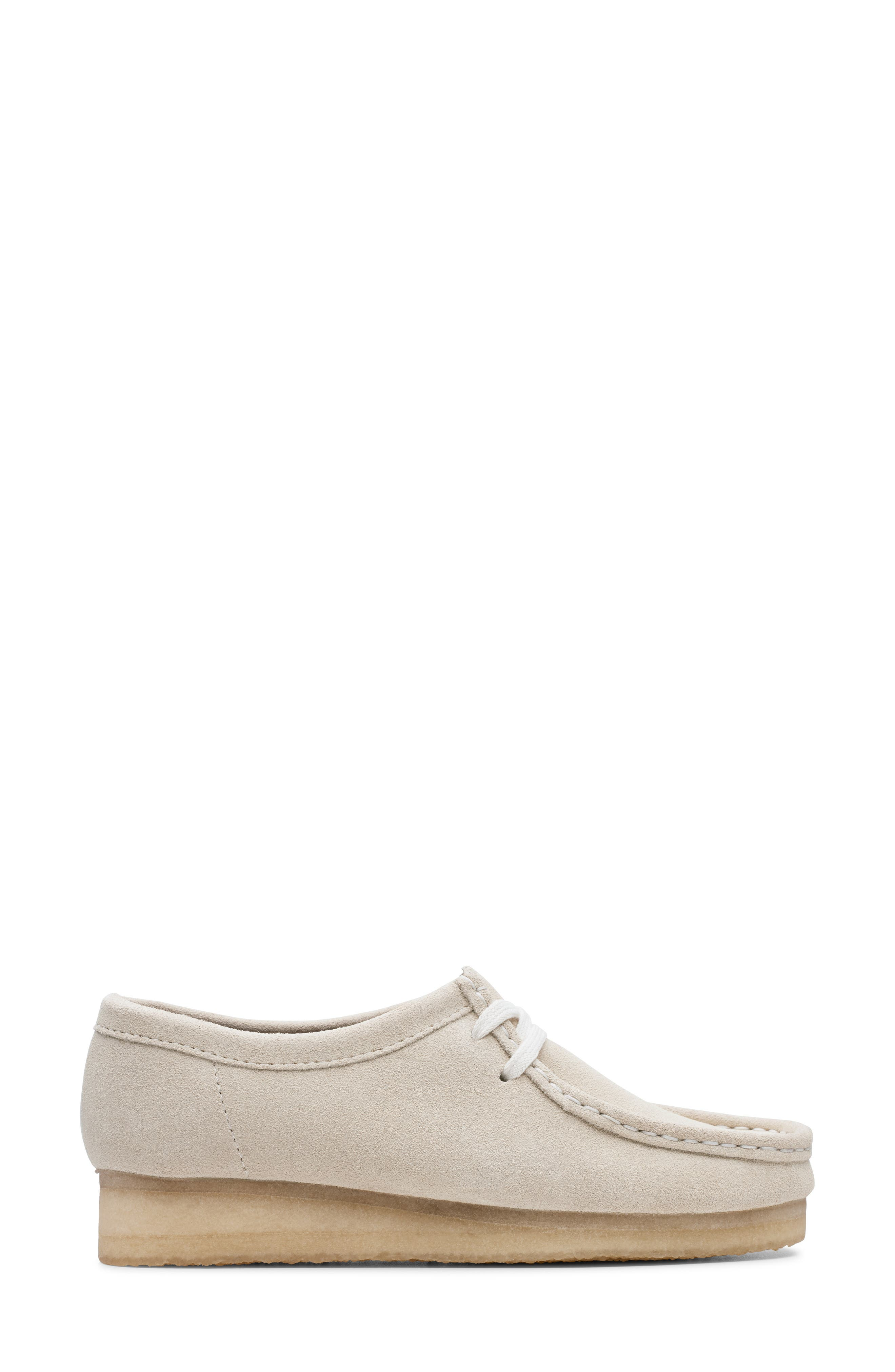 ,                             Wallabee Chukka Boot,                             Alternate thumbnail 2, color,                             OFF WHITE SUEDE