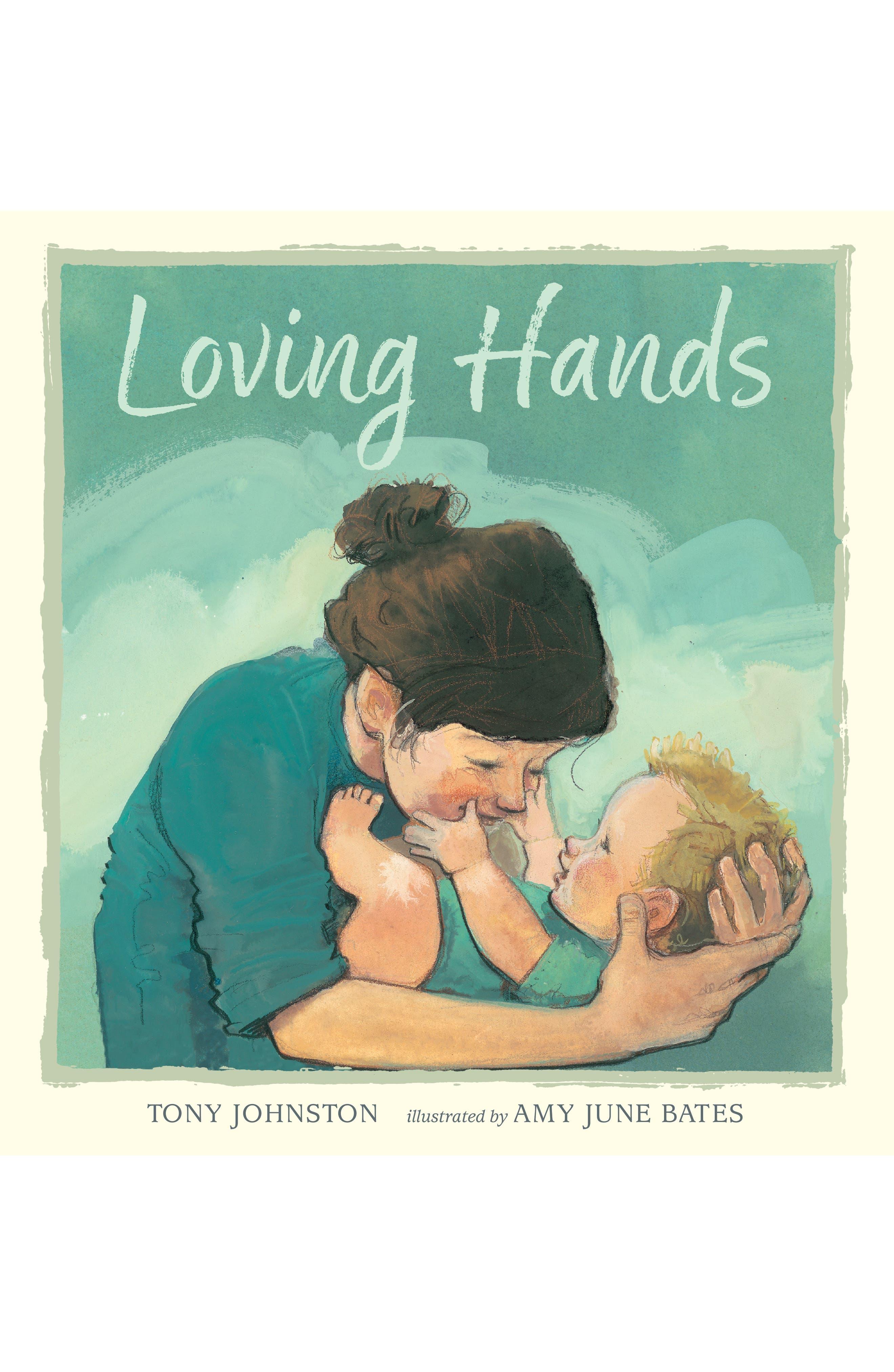 'Loving Hands' Book, Main, color, LIGHT/ PASTEL GREEN