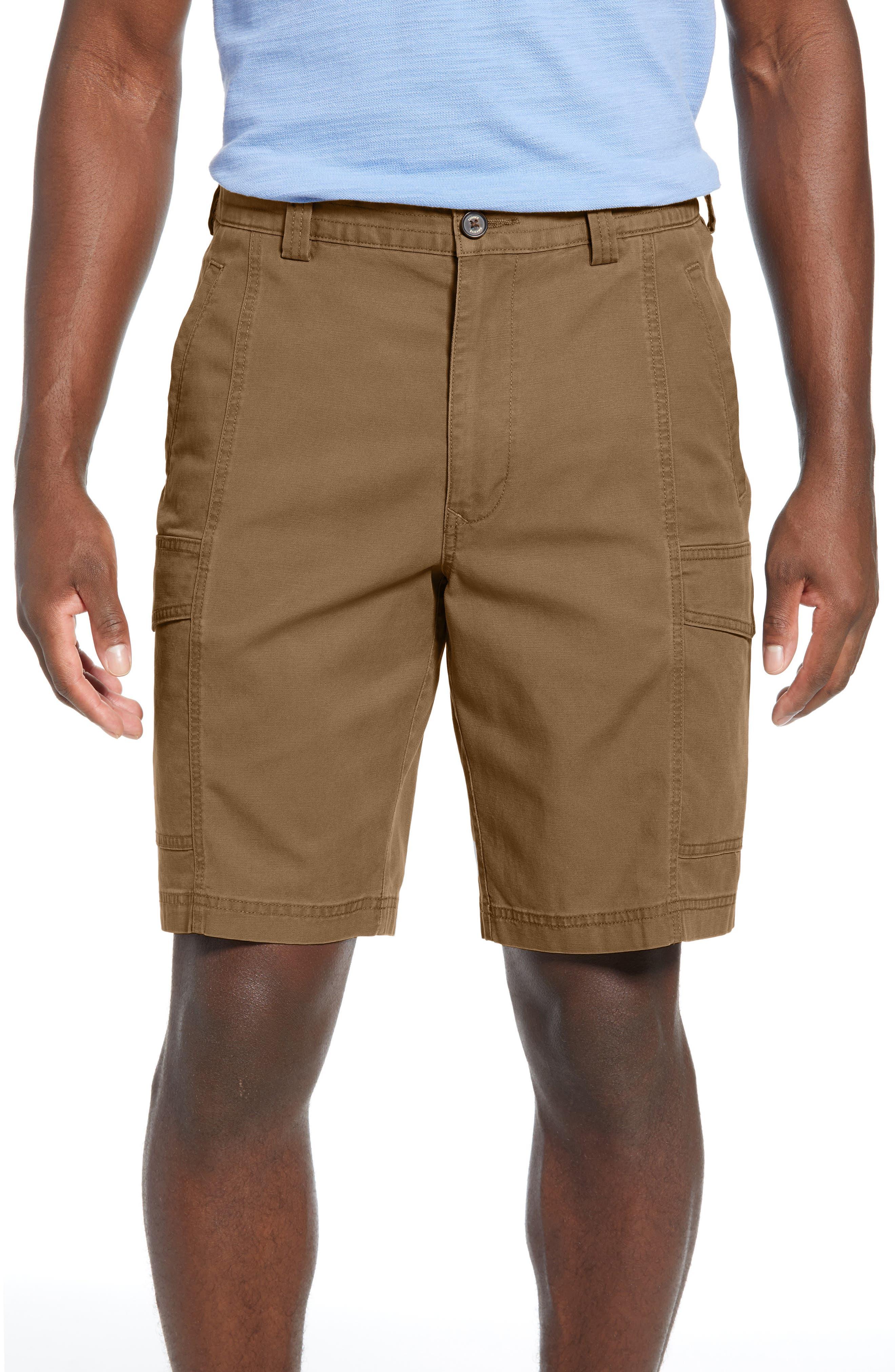 Tommy Bahama Key Isles Cargo Shorts, Brown