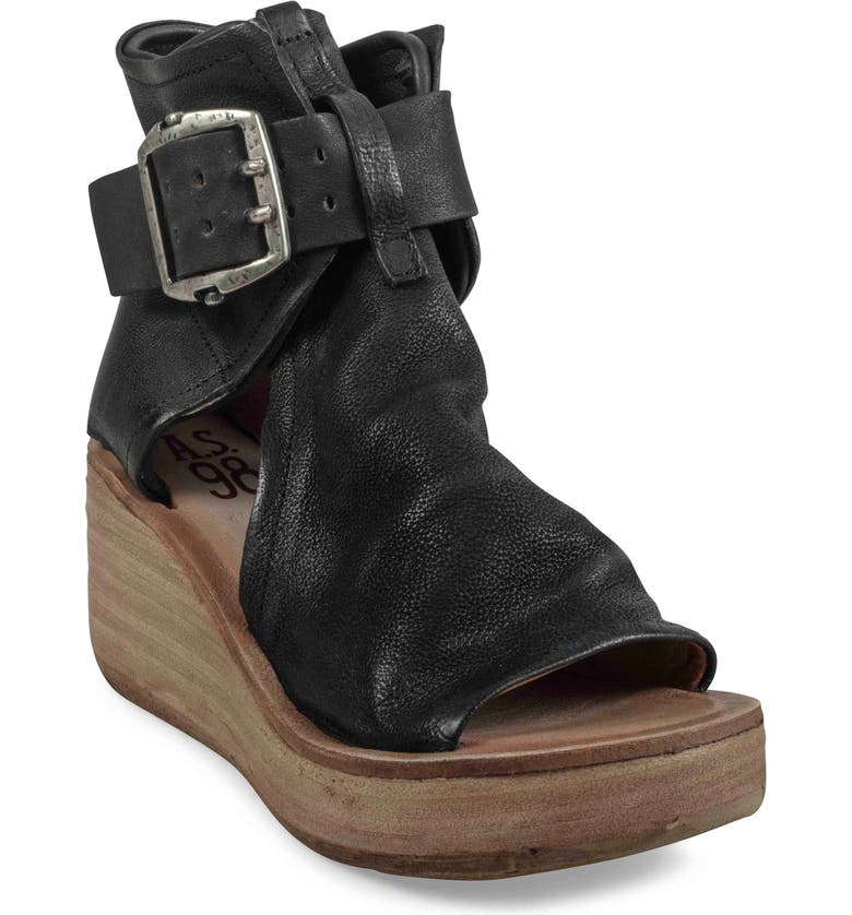 A.S.98 Naya Wedge Sandal, Main, color, 001