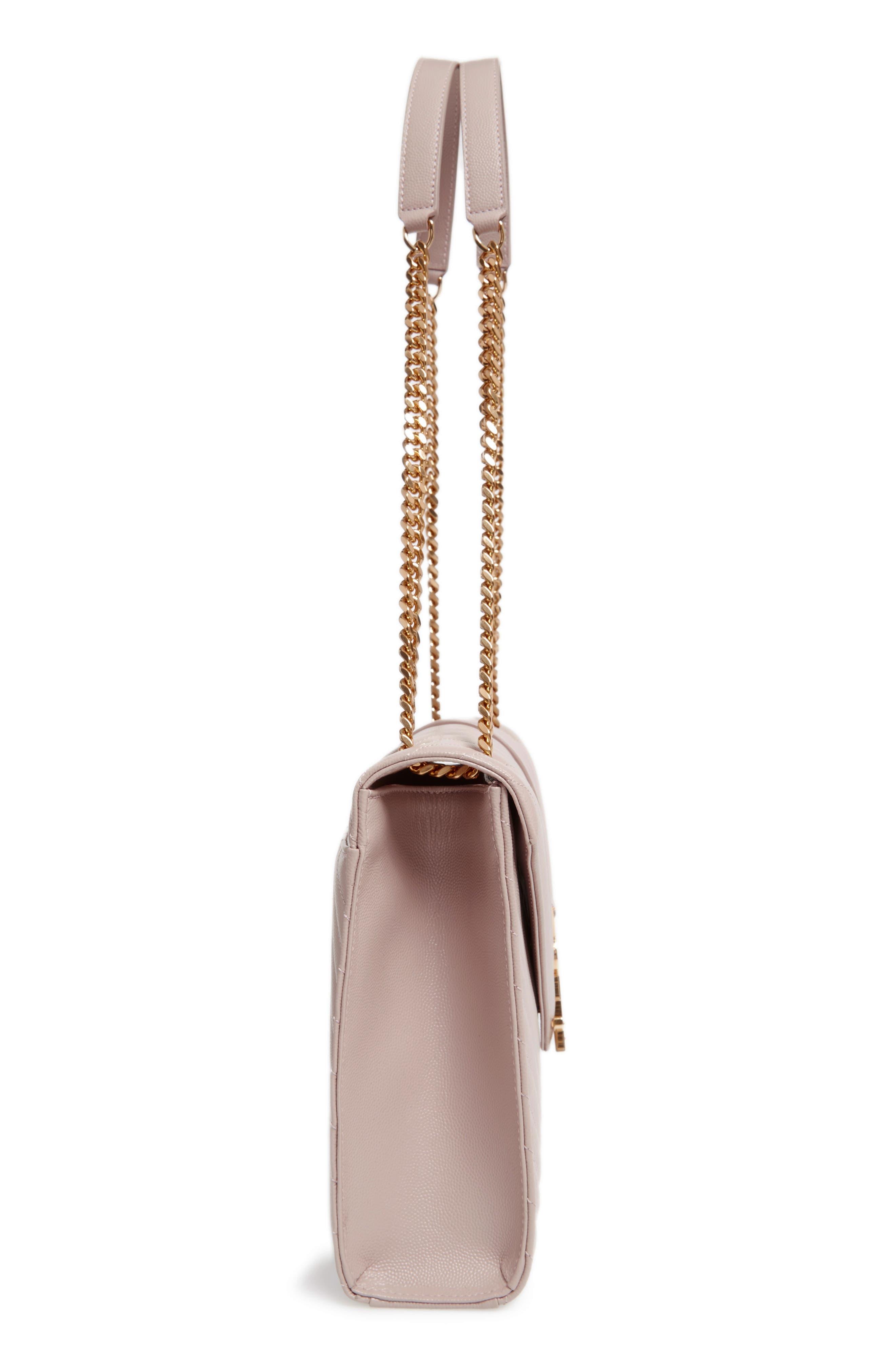 ,                             'Large Monogram' Grained Leather Shoulder Bag,                             Alternate thumbnail 45, color,                             657