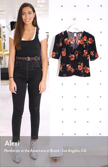 x Claudia Sulewski Tie Neck Top, sales video thumbnail