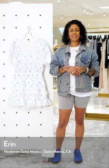 Leighton Ruffle Tier Minidress, sales video thumbnail