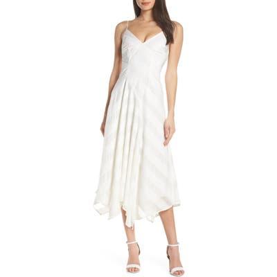 Keepsake The Label Unbroken Tea Length Dress, Ivory