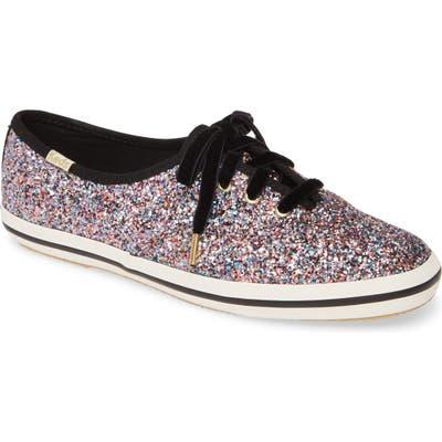 Keds X Kate Spade New York Glitter Sneaker, Pink