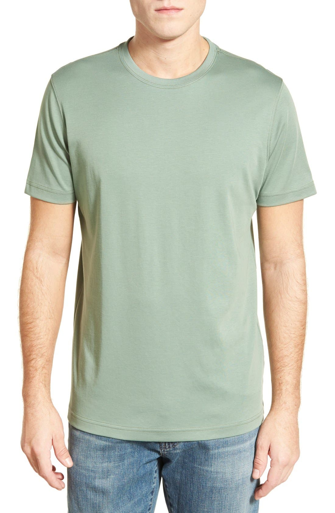 ,                             Georgia Crewneck T-Shirt,                             Main thumbnail 230, color,                             370