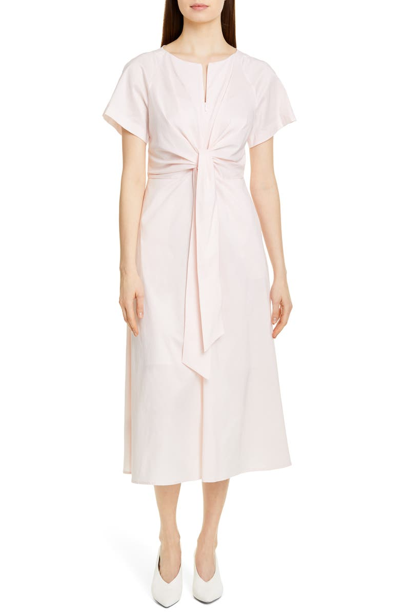 HUGO Kilara Midi Dress, Main, color, PINK