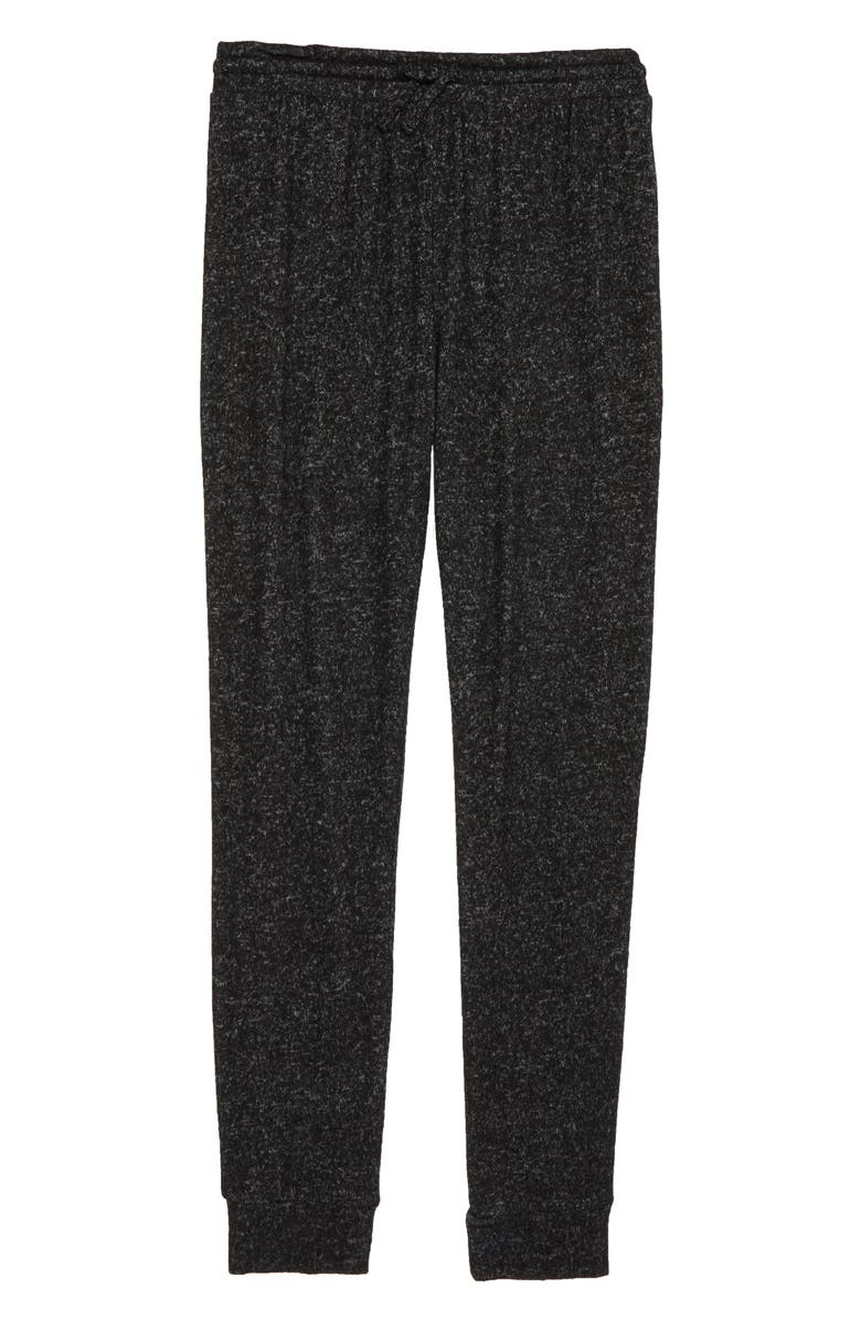 ZELLA GIRL Jogger Pants, Main, color, BLACK HEATHER