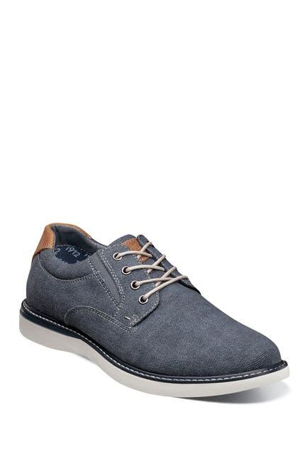 Image of NUNN BUSH Bayridge Canvas Oxford Shoe - Wide Width Available