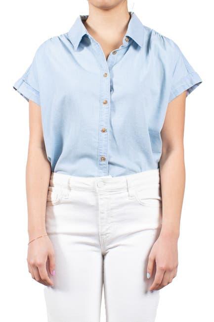 Image of MAUBY Short Sleeve Chambray Shirt