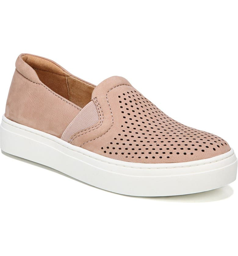 NATURALIZER Carly Slip-On Sneaker, Main, color, MAUVE SUEDE