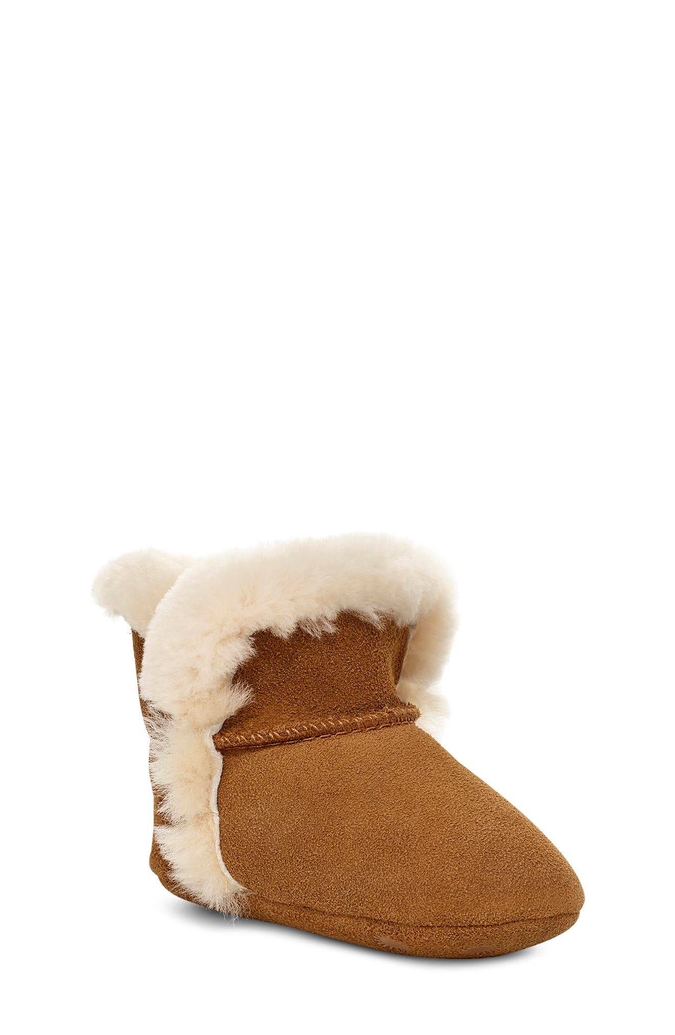 Image of UGG Lassen Genuine Shearling Crib Shoe