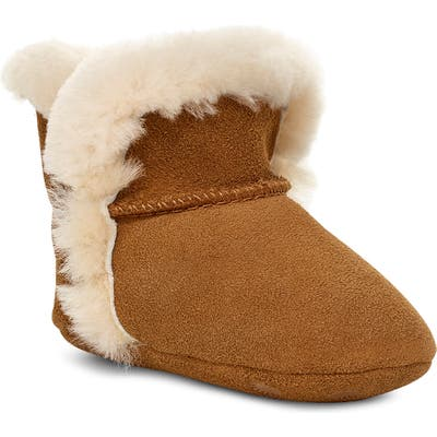 Ugg Lassen Genuine Shearling Crib Shoe