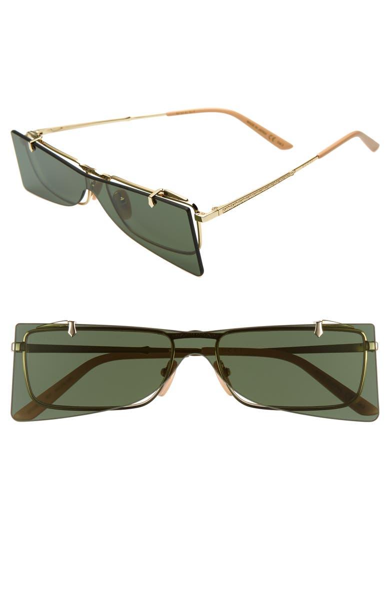 dacc8a8bd 56mm Flip-Up Sunglasses, Main, color, 710