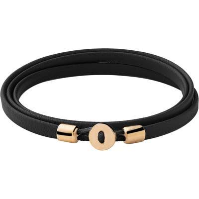 Miansai Nexus Leather Wrap Bracelet