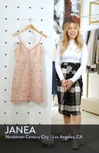 Elisabet 3D Lace Cocktail Dress, sales video thumbnail