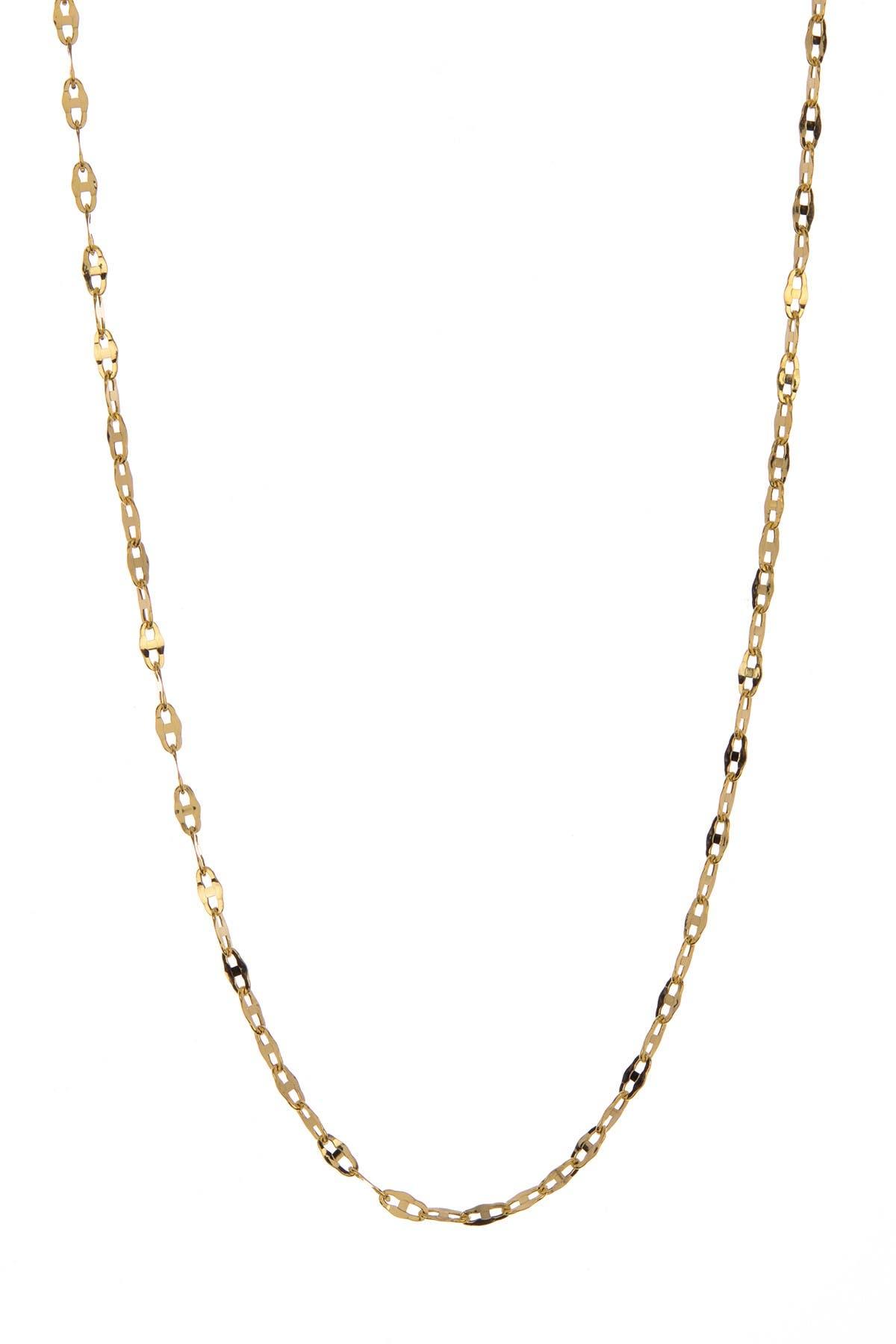 Image of Candela 10K Gold Marine Chain Necklace