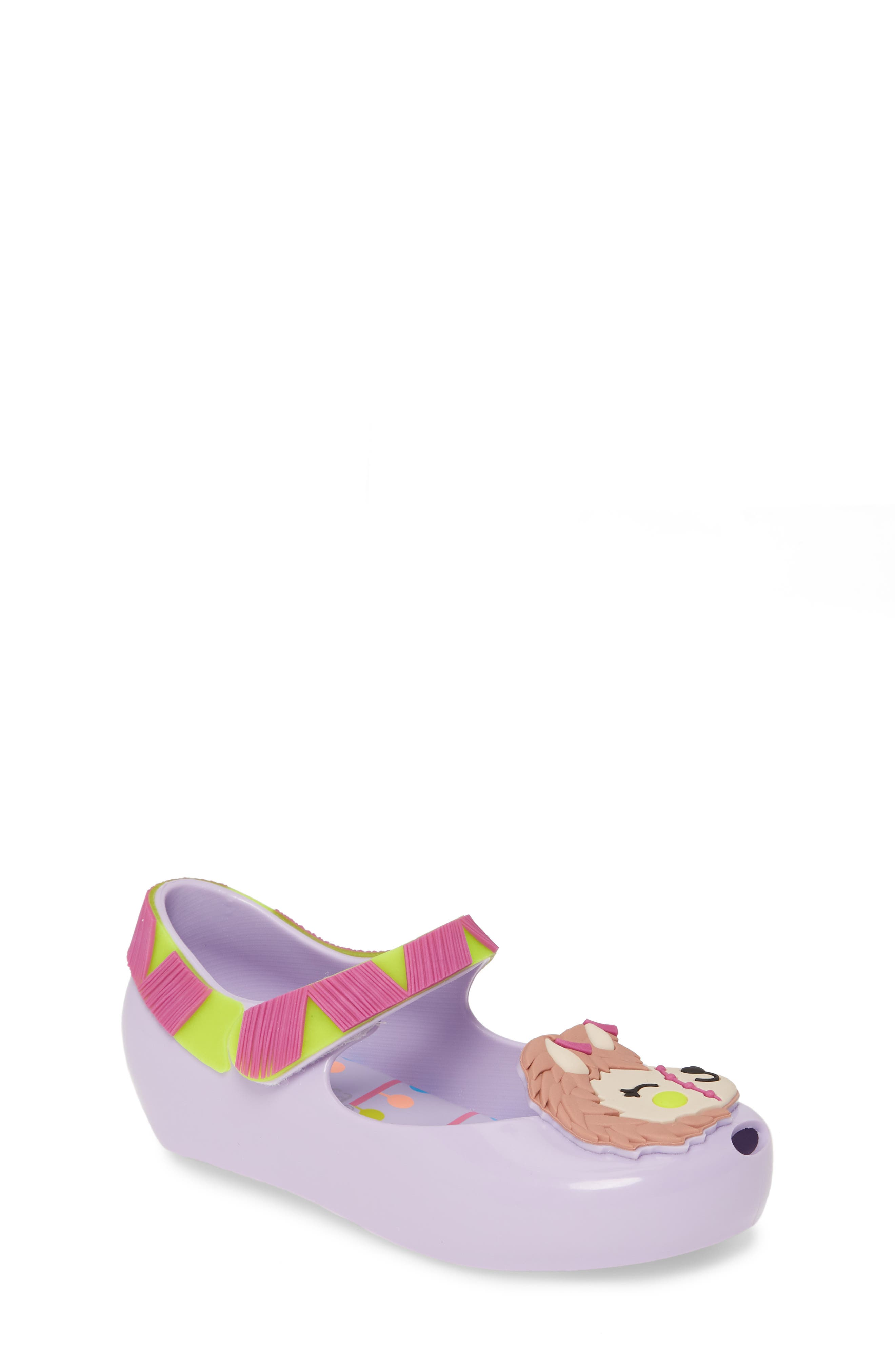 Toddler Girls Melissa Ultra 14 Flat Size 7 M  Purple