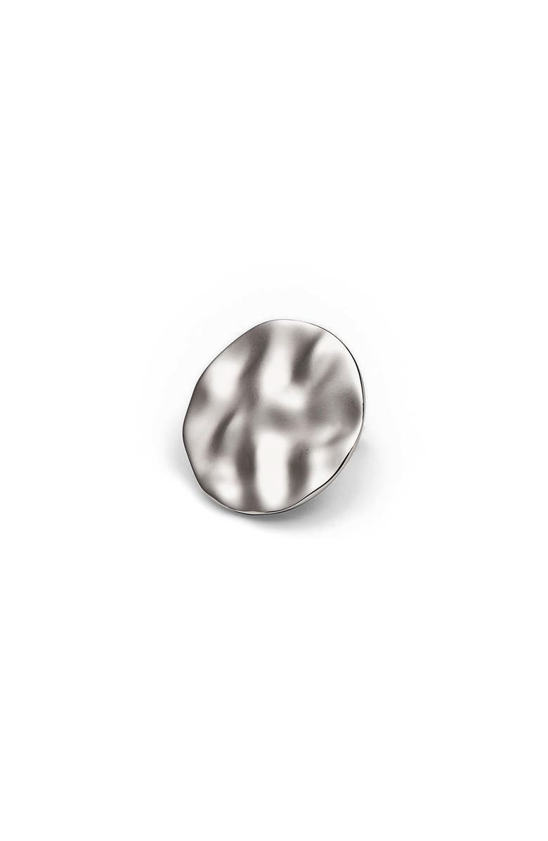 TOM WOOD Small Wavy Stud Earring, Main, color, 040