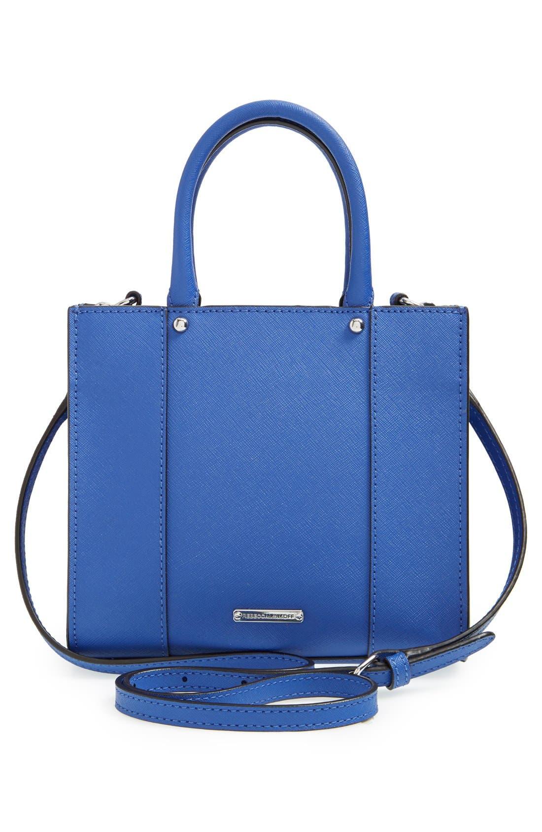 ,                             'Mini MAB Tote' Crossbody Bag,                             Alternate thumbnail 61, color,                             401
