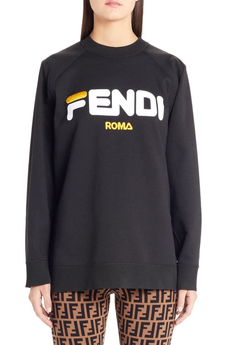 Fendi Sport Logo Sweatshirt