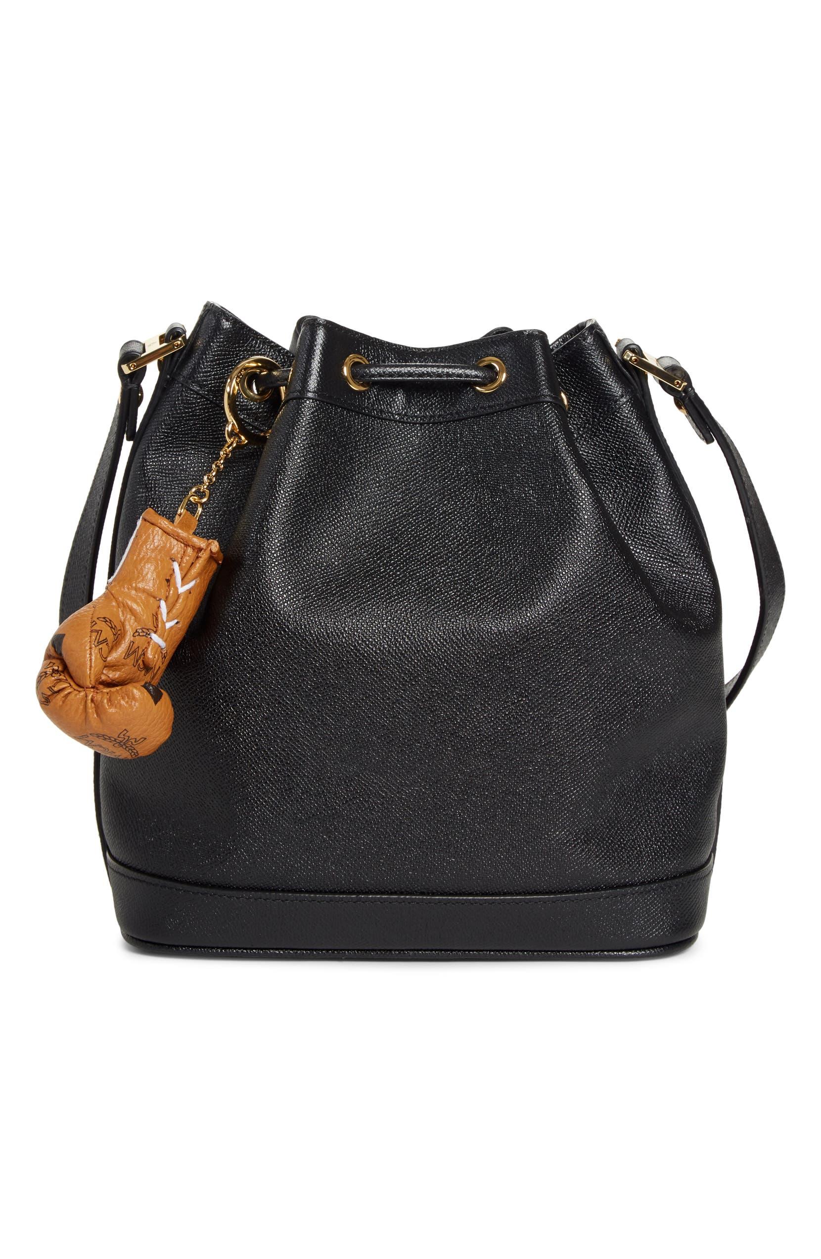 2316452dae4 Everlast x MCM Mini Visetos Coated Canvas Glove Bag Charm   Nordstrom