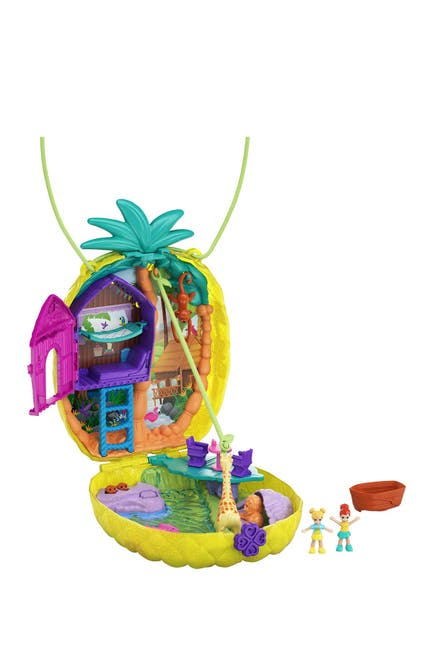 Image of Mattel Polly Pocket Tropicool Pineapple Purse