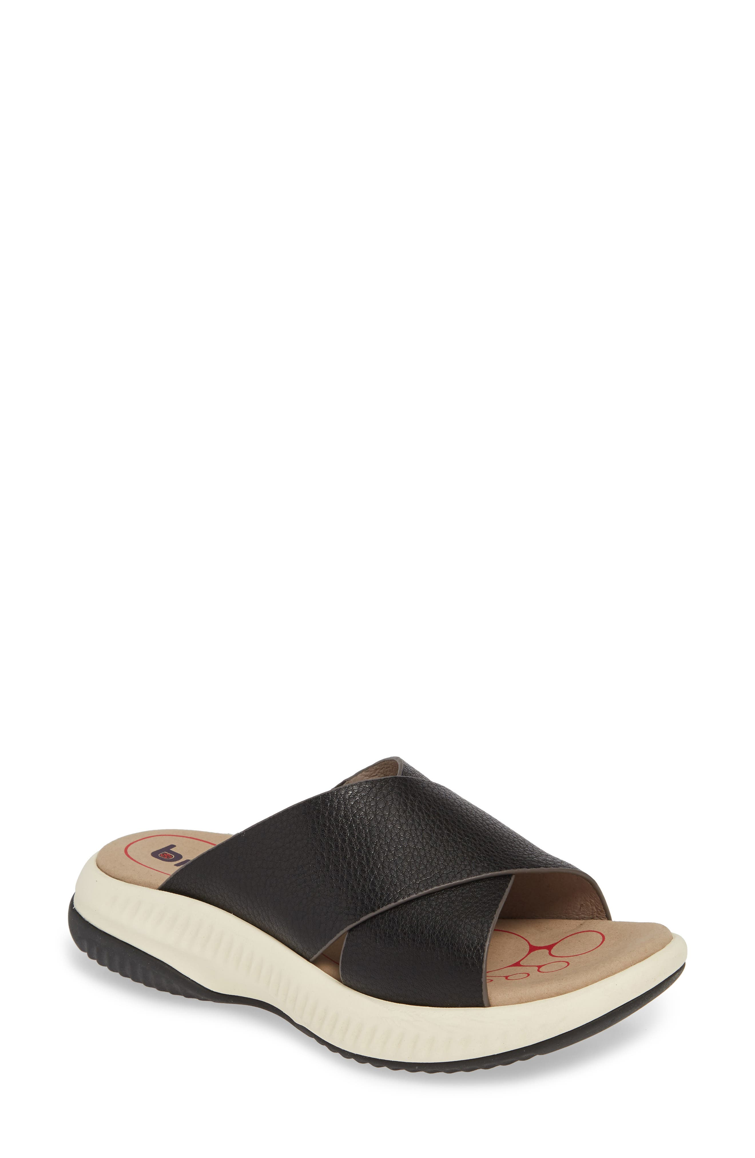 Bionica Ambridge Slide Sandal, Black