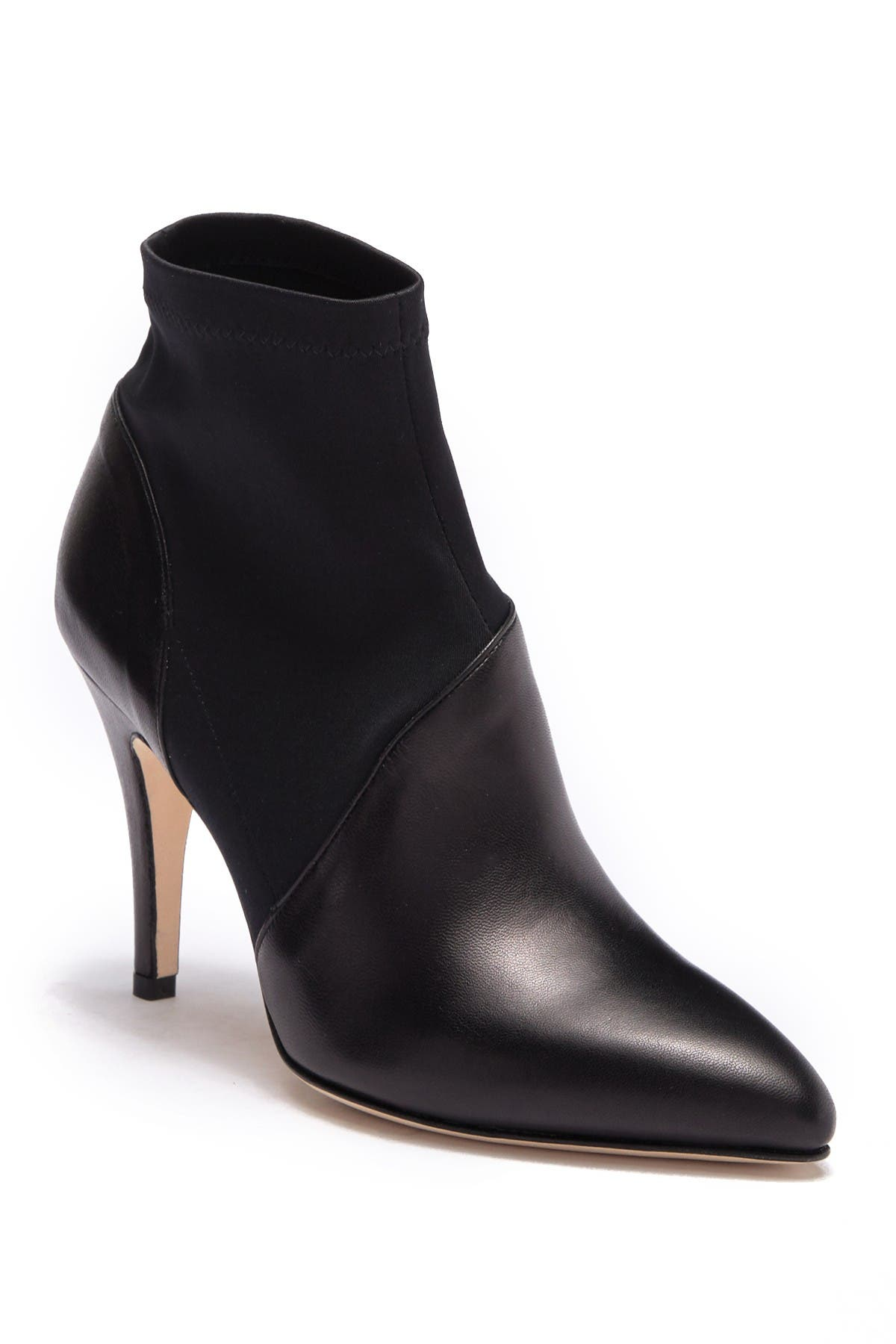 Image of Bettye Muller Gidget Leather Stretch Bootie