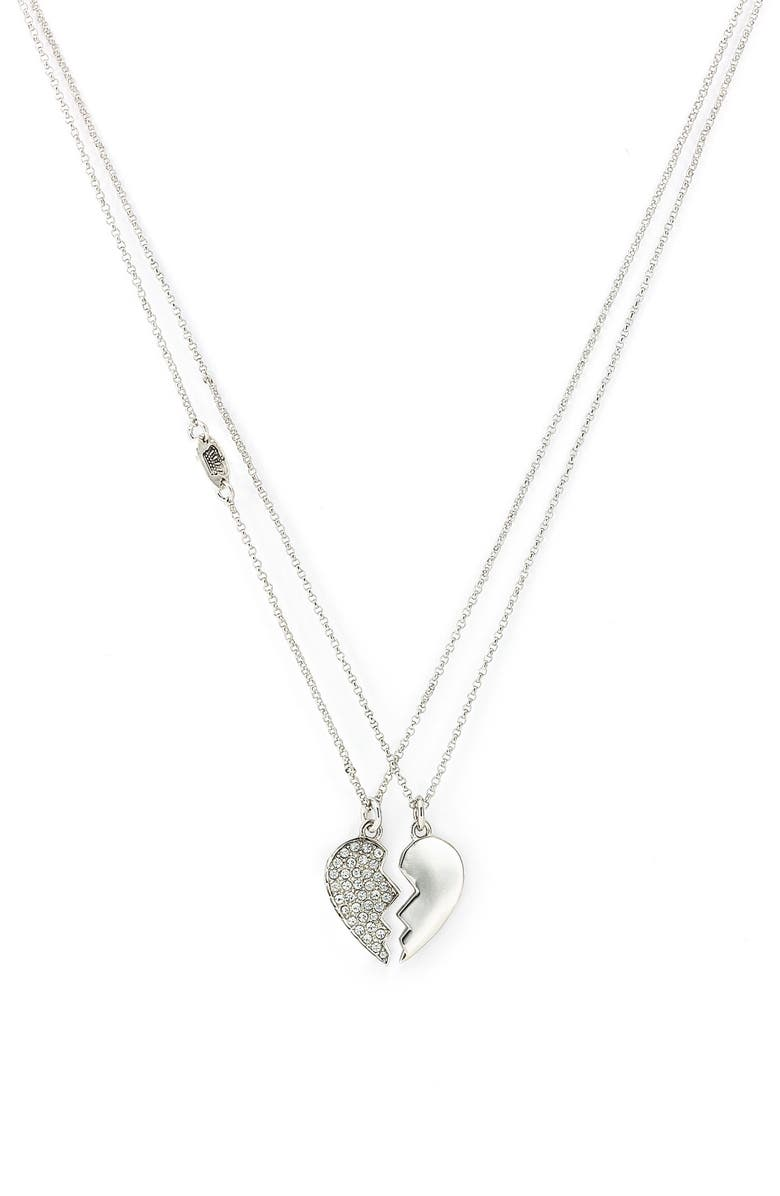 Juicy Couture 'Best Friends Forever' Split Heart Necklaces