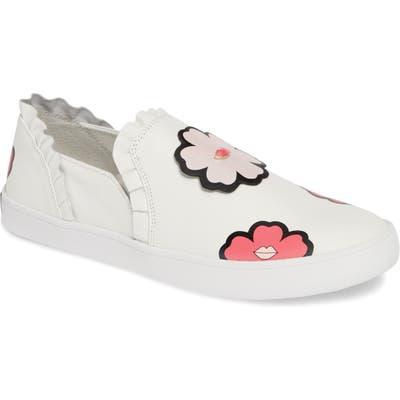 Kate Spade New York Lima Slip-On Sneakers- White