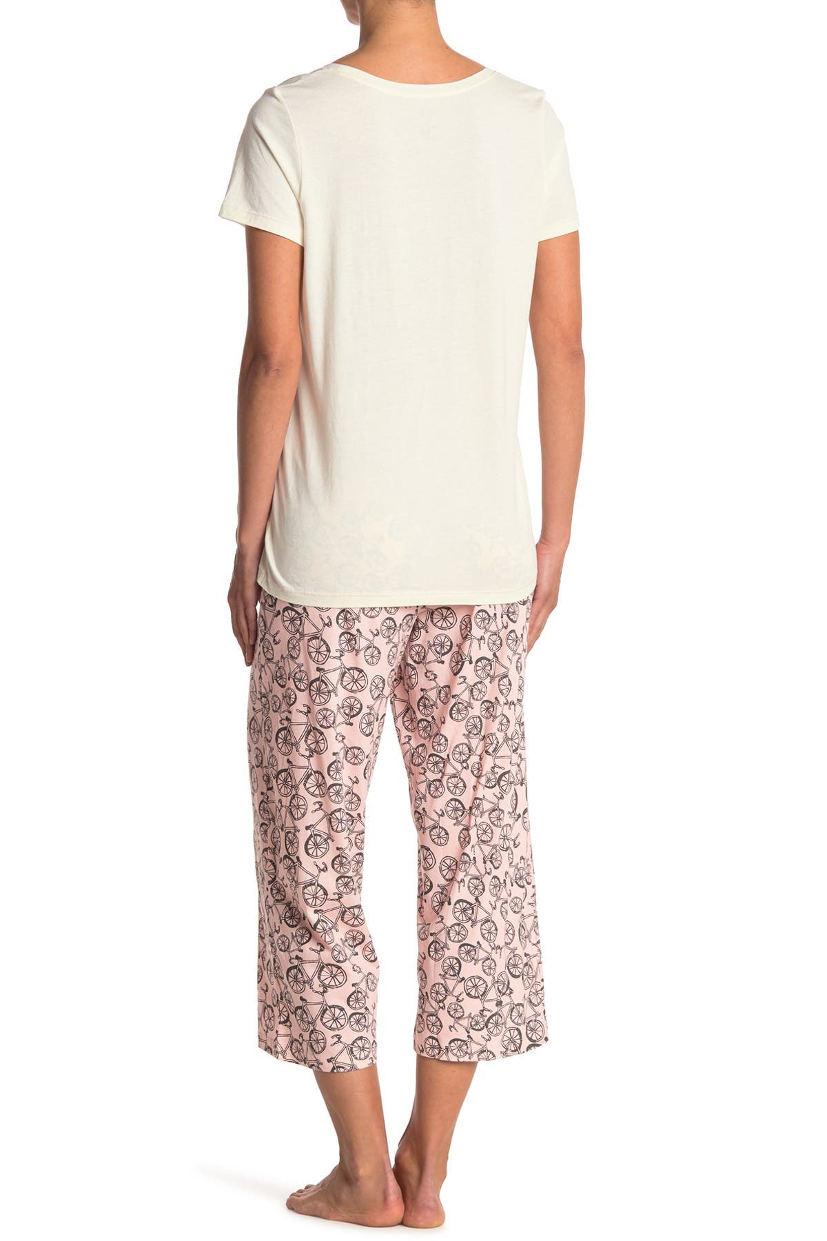 HUE Joy Of The Journey 2-Piece Pajama Set