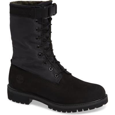 Timberland Premium Gaiter Plain Toe Boot, Black