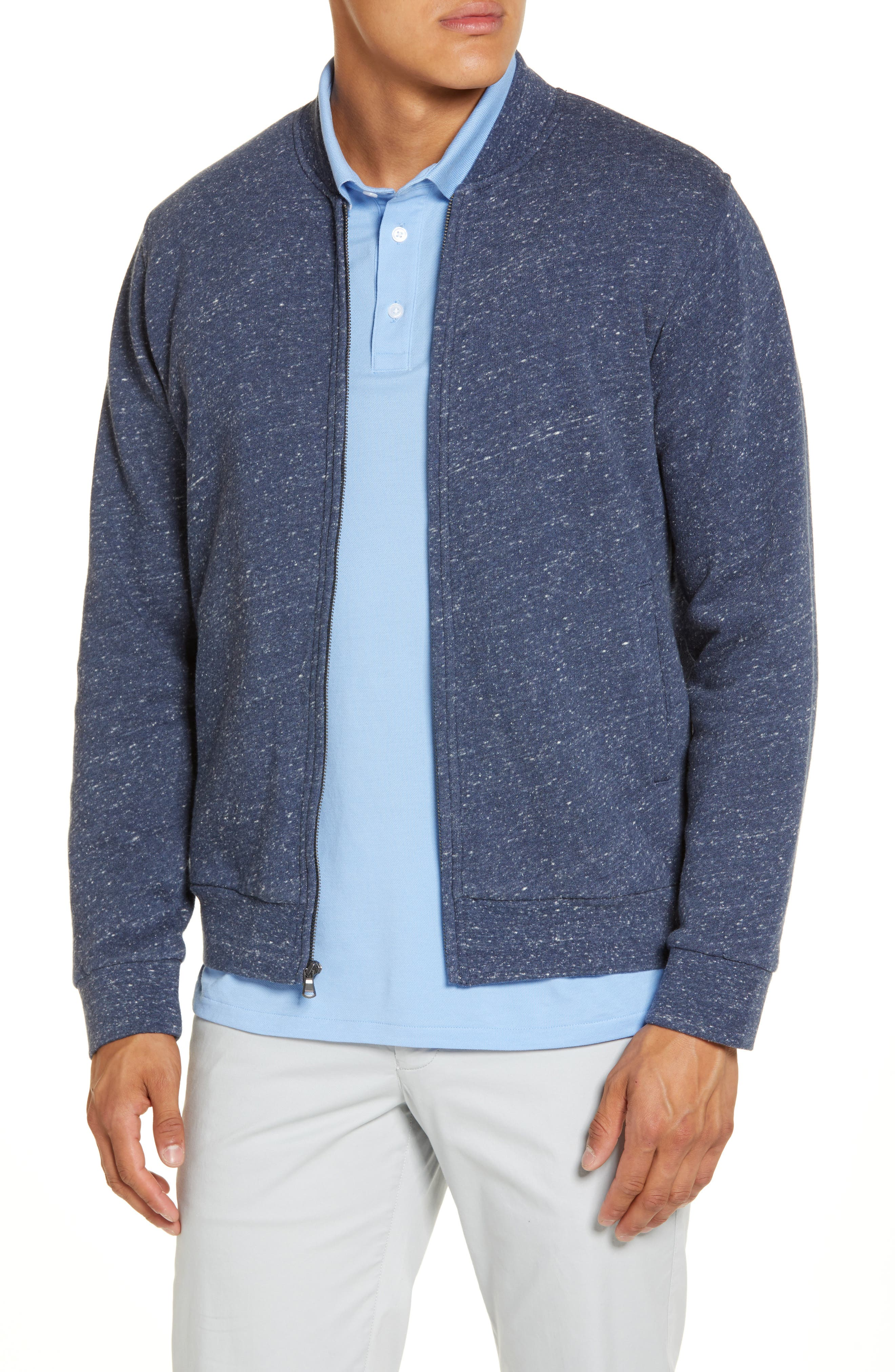 When a cold snap hits, only fleece will do, so reach for this trim jacket-including convenient pockets and a baseball collar-and go cozy. Style Name: Bonobos Slim Fit Fleece Baseball Jacket. Style Number: 6053870. Available in stores.