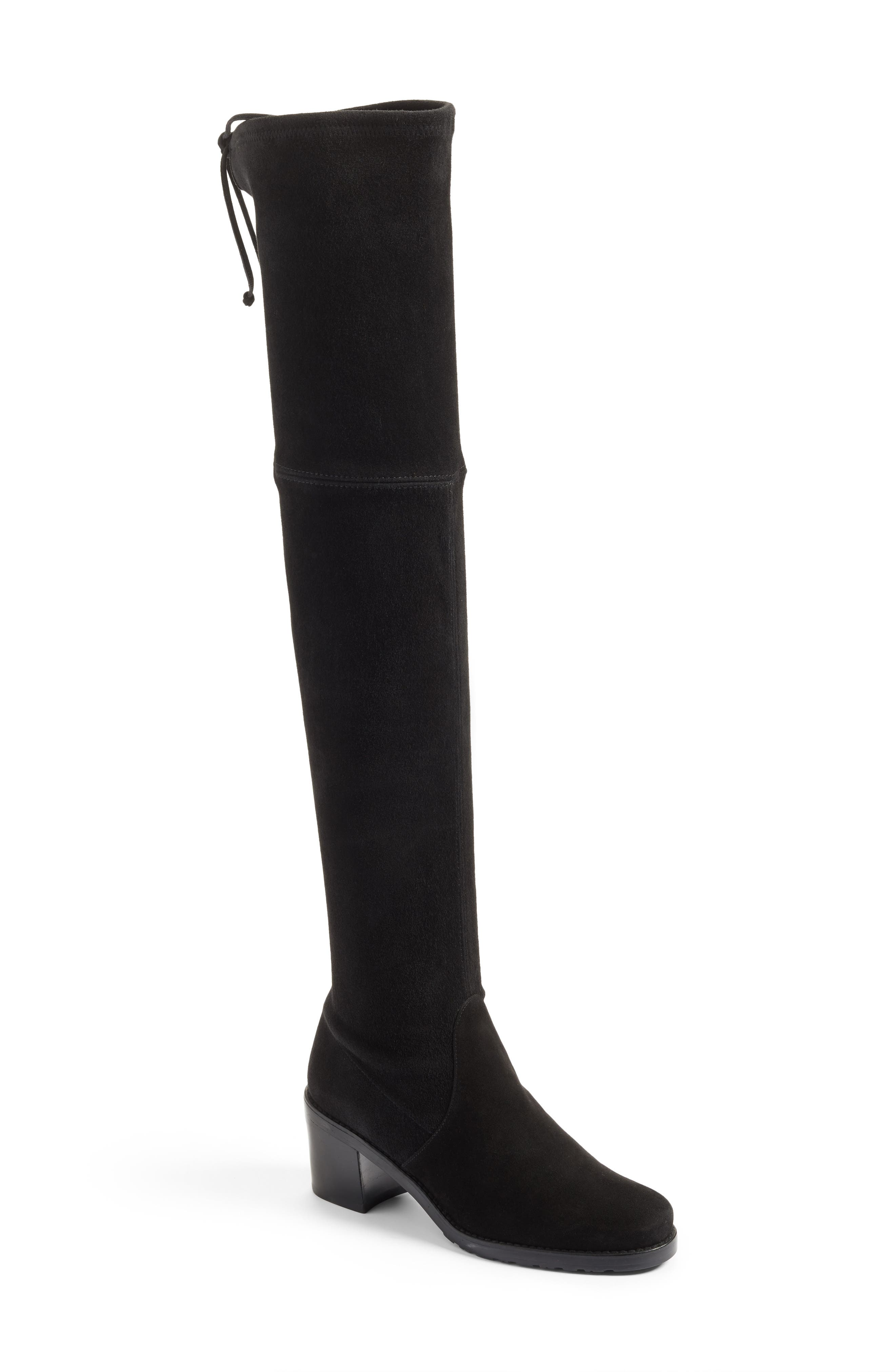 Elevated Over-the-Knee Boot