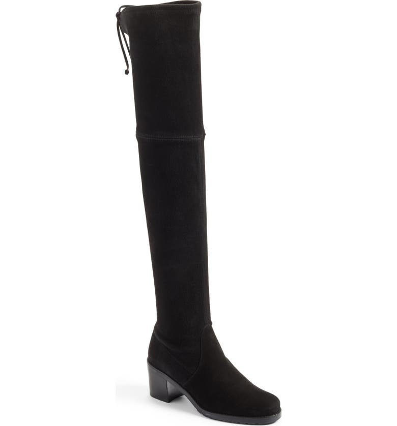 STUART WEITZMAN Elevated Over the Knee Boot, Main, color, 001