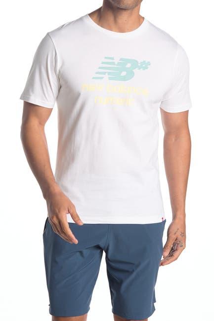 Image of New Balance Numeric Logo Stacked T-Shirt