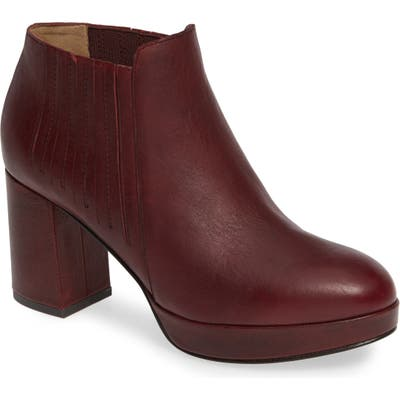 Eileen Fisher Bird Bootie, Burgundy