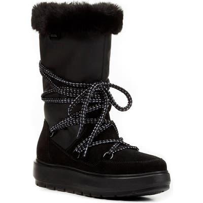 Geox Kaula Waterproof Boot, Black