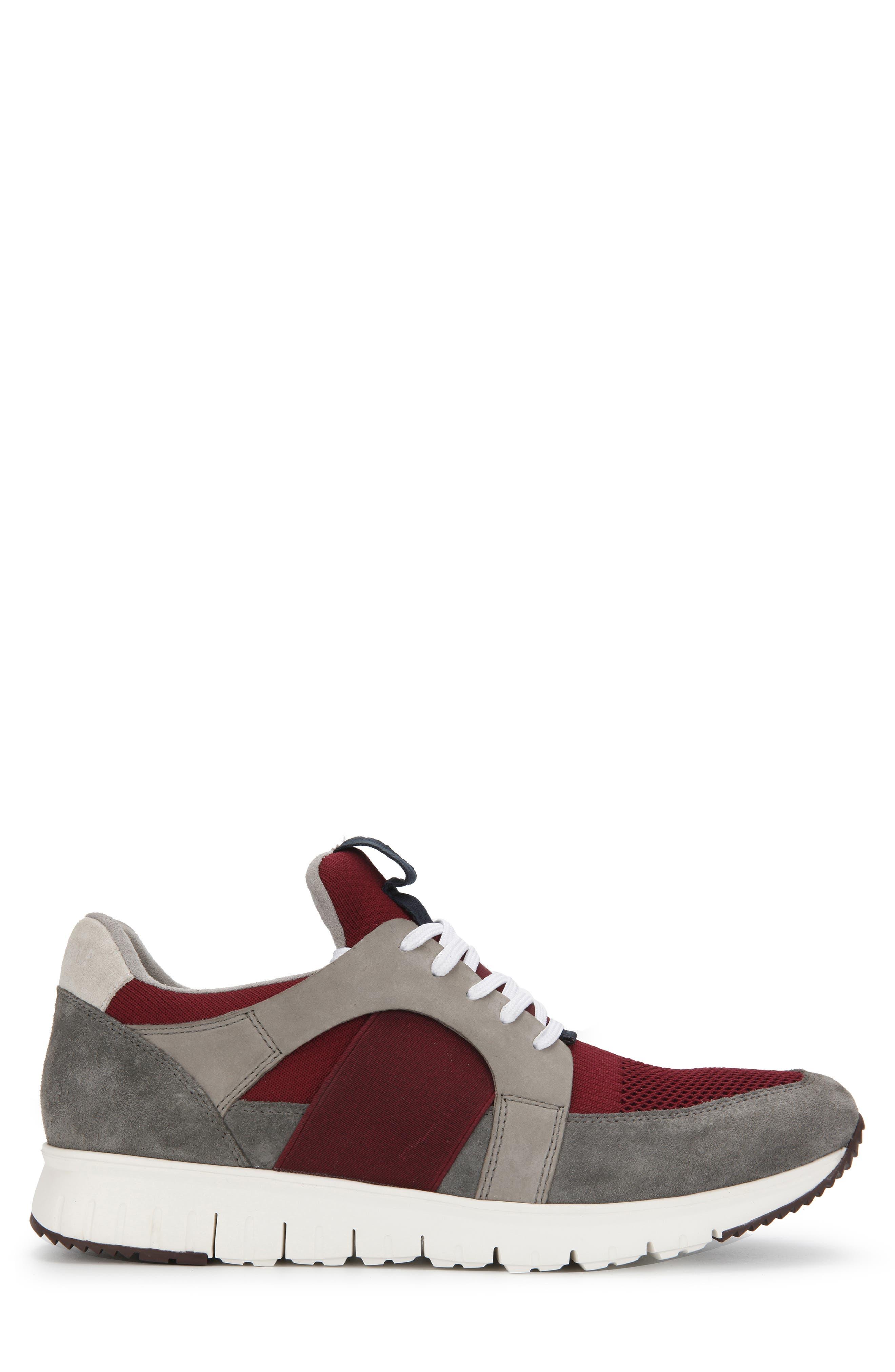 ,                             Bailey Sneaker,                             Alternate thumbnail 2, color,                             BORDEAUX LEATHER