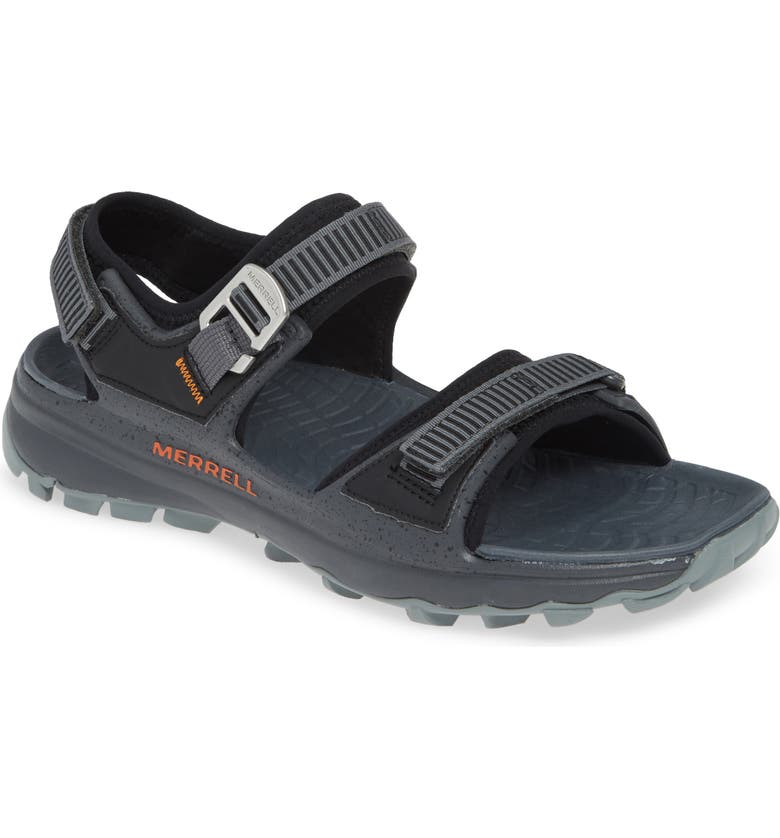 MERRELL Choprock Sandal, Main, color, BLACK