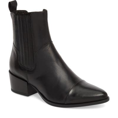 Vagabond Shoemakers Marja Cap Toe Bootie, Black