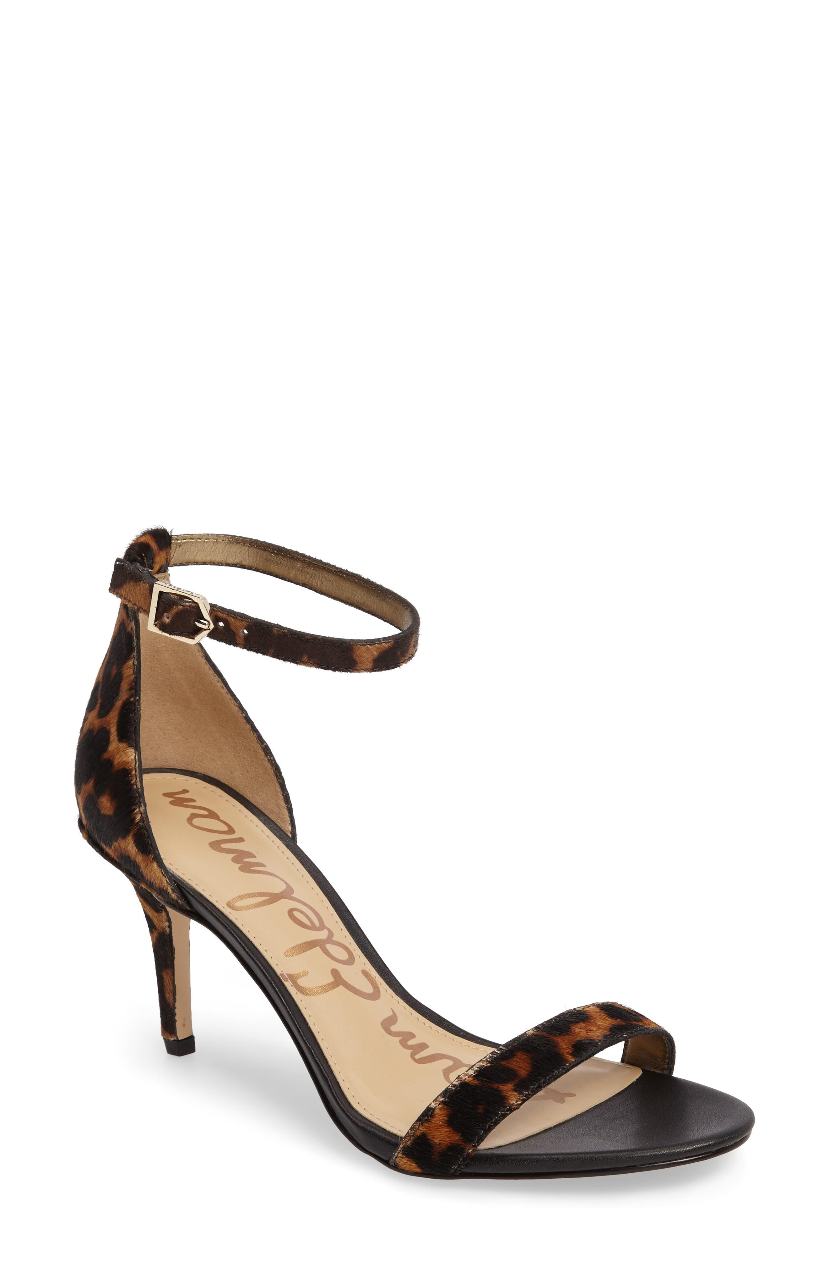 ,                             'Patti' Ankle Strap Sandal,                             Main thumbnail 162, color,                             201