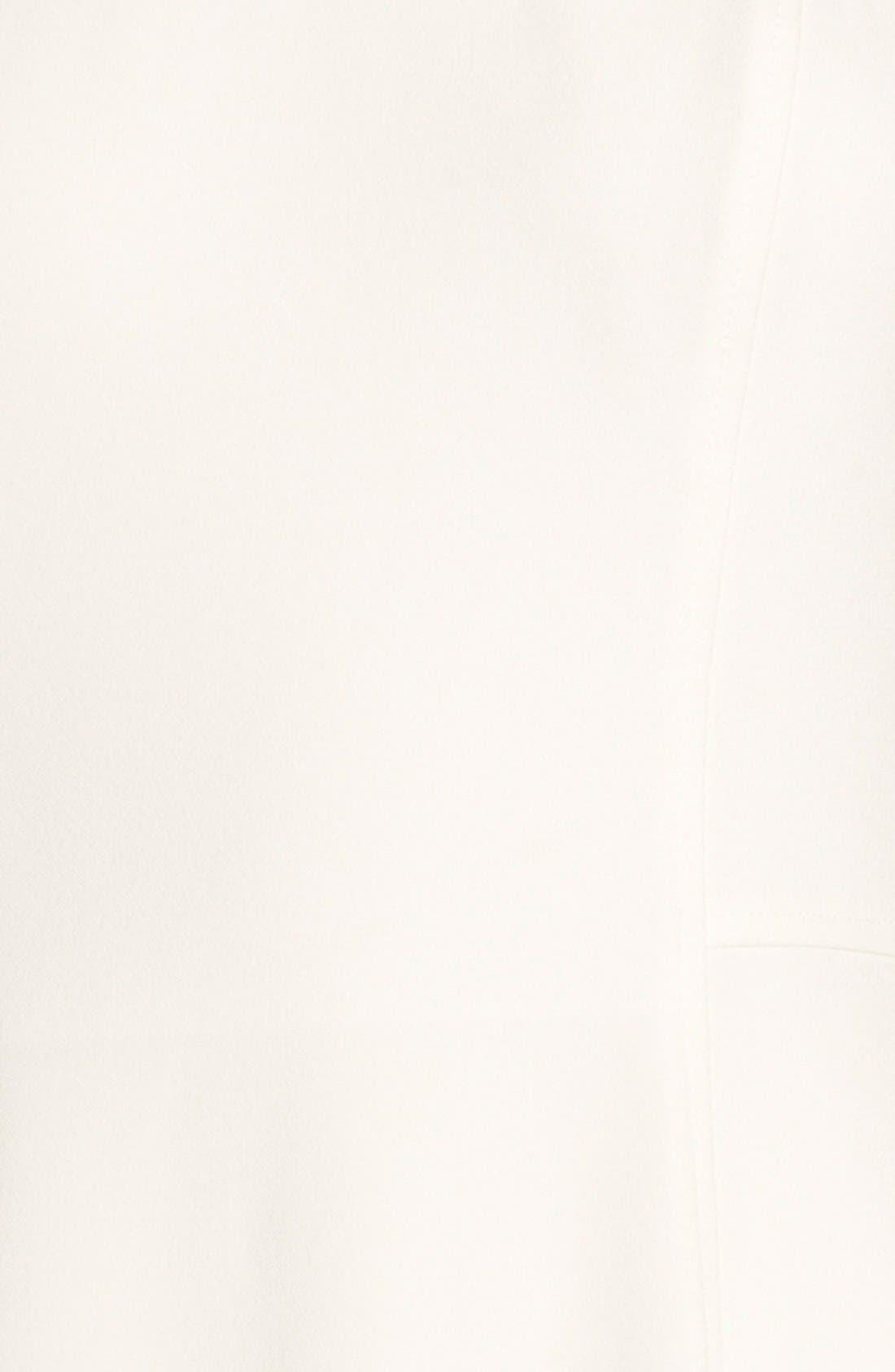 ,                             Illusion Yoke Crepe Sheath Dress,                             Alternate thumbnail 26, color,                             108