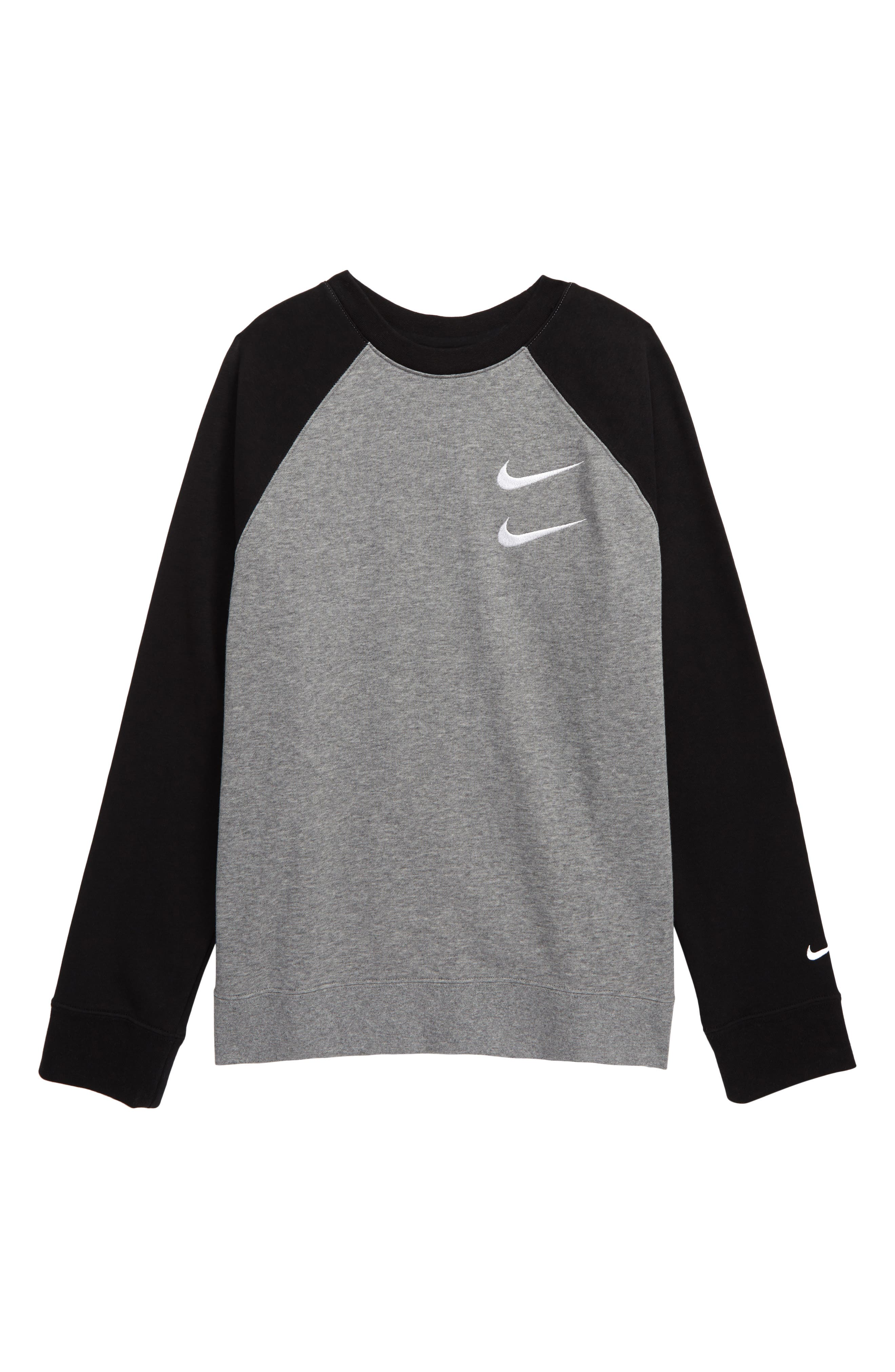 Nike Sportswear Men/'s Carbon Gray Crew-Neck Graphic Tank Top