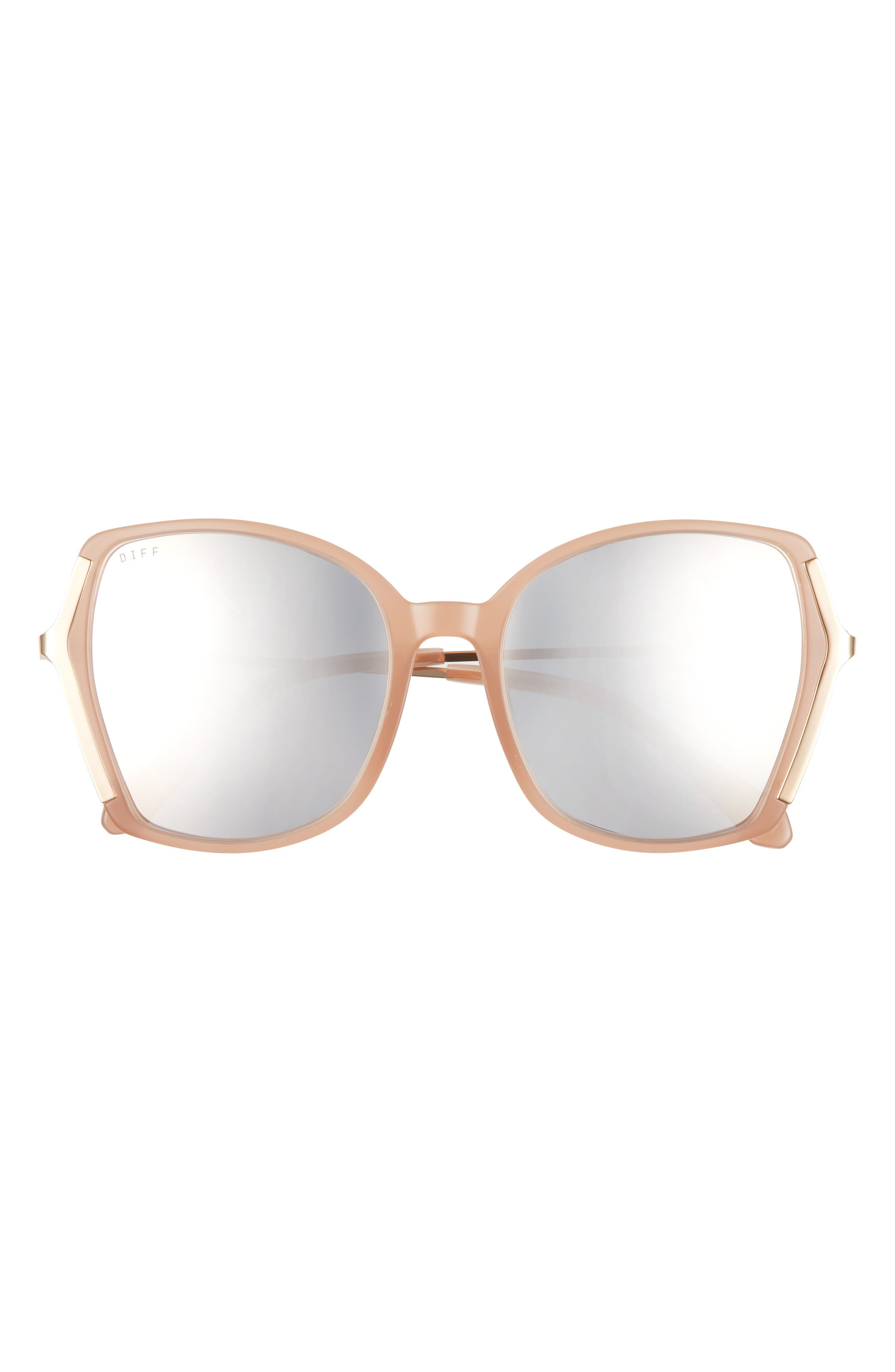 Donna Ii 55mm Gradient Round Sunglasses