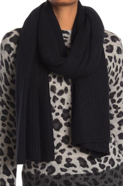 Image of Naked Cashmere Claire Ribbed Cashmere Scarf