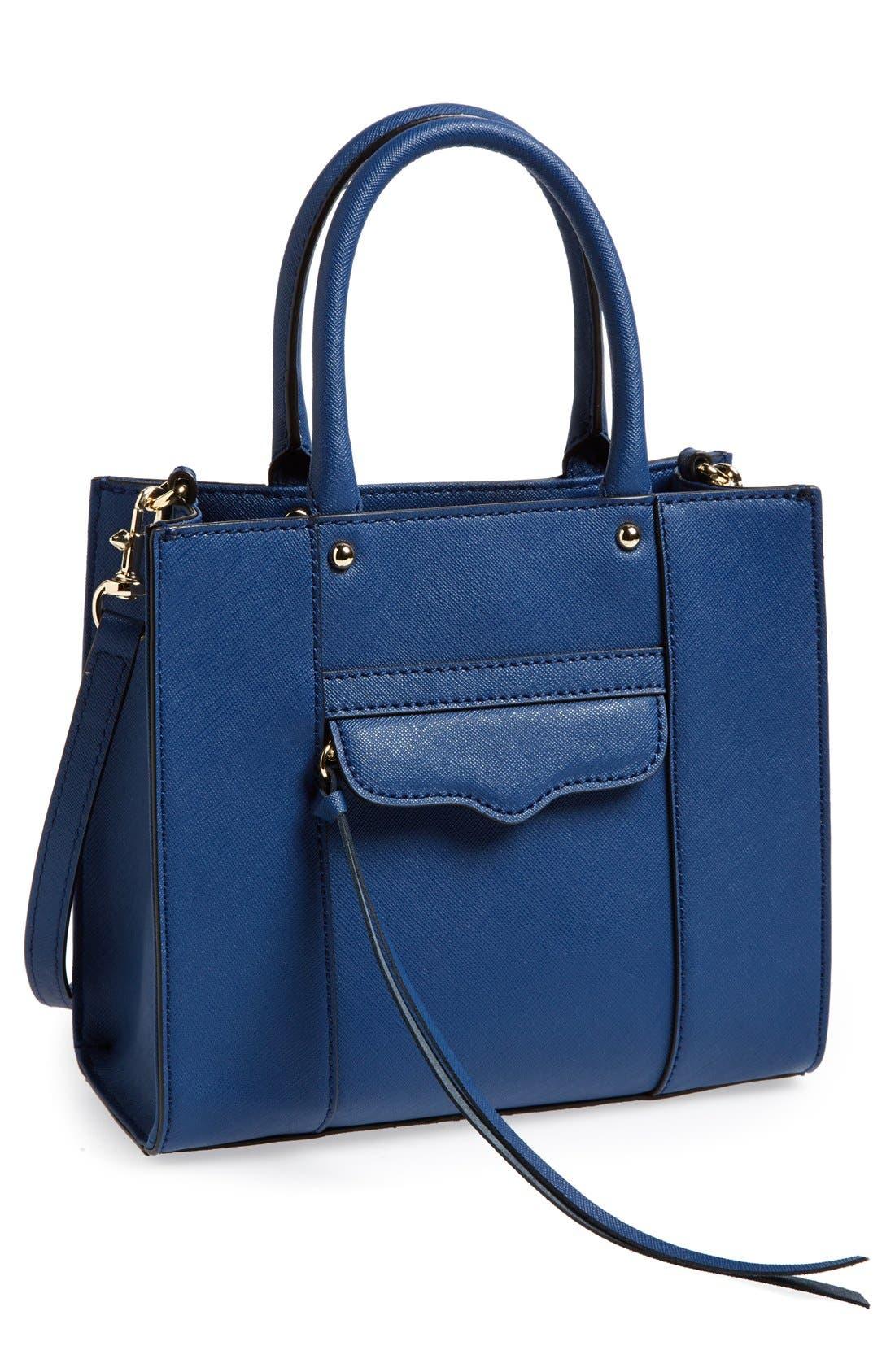 ,                             'Mini MAB Tote' Crossbody Bag,                             Main thumbnail 64, color,                             410