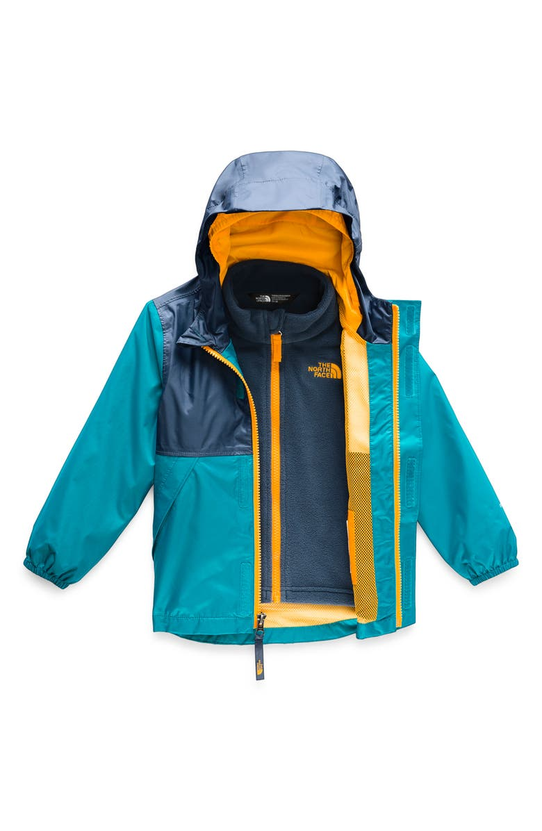 THE NORTH FACE Stormy Rain Triclimate<sup>®</sup> Waterproof 3-in-1 Jacket, Main, color, 401
