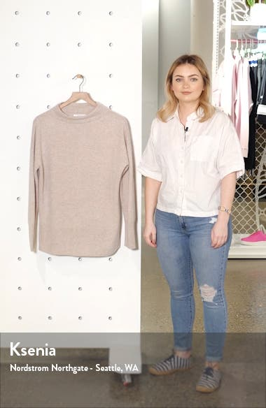 Funnel Neck Cashmere Sweater, sales video thumbnail